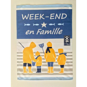 Torchon Weekend en Famille